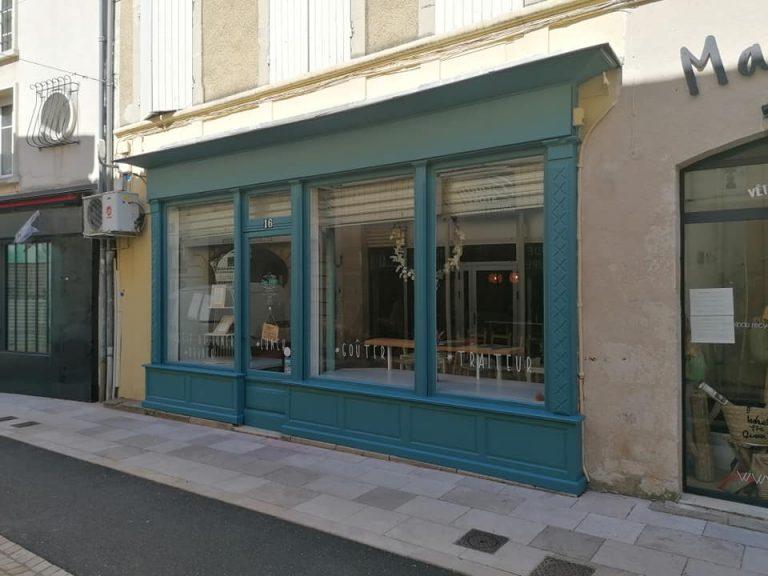 Peinture devanture magasin